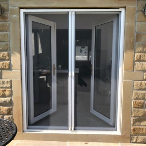 double roller fly screen doors