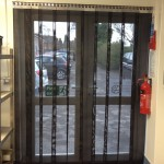 Heavy Duty Strip Mesh Door