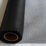 Charcoal insect mesh