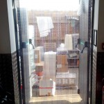 PERF STRIP DOOR