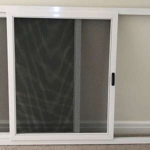 Sliding fly screen