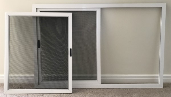 Removable fly screen panels