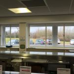 sliding fly screens for commercial kitchens
