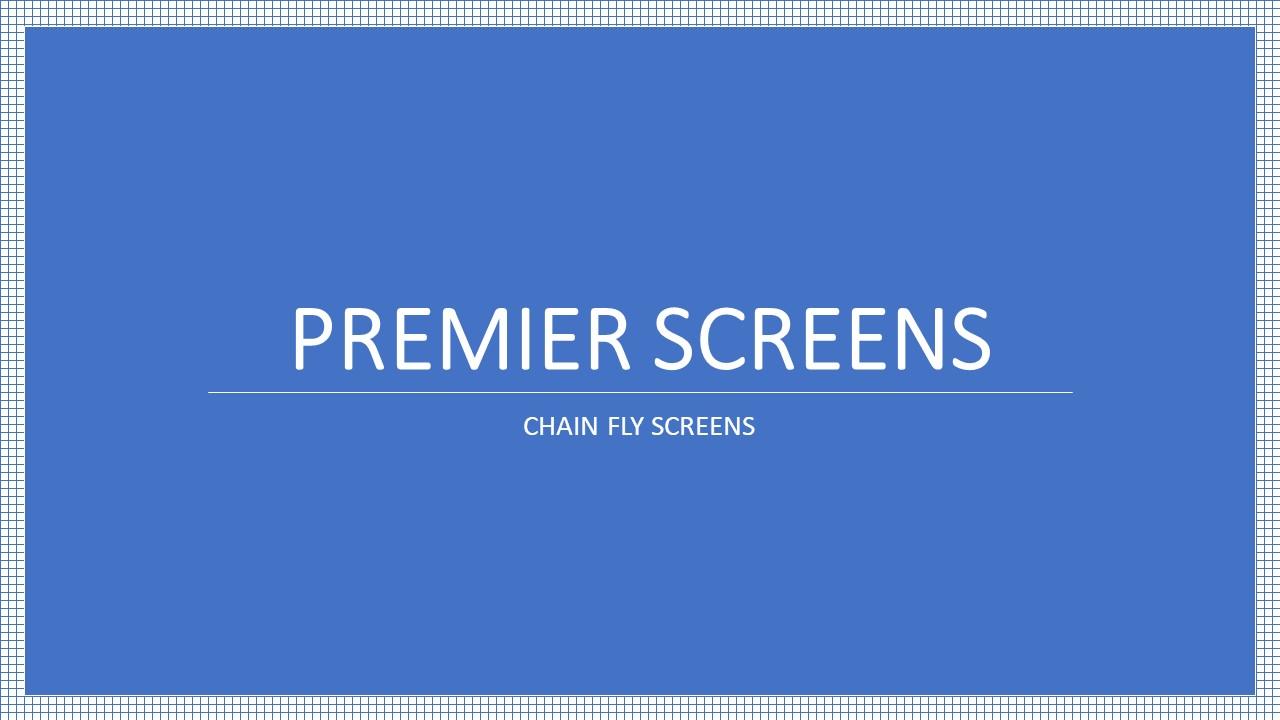 Chain Fly Screens Aluminium Chain Insect Screens Premier Ltd