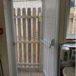 chain fly screen door