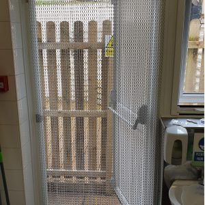 Chain Fly Screen Door