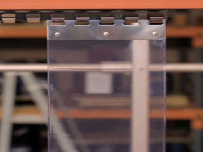 Clear PVC Strips