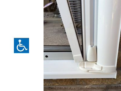 Roller fly screen doors fly protection for all types of for Roller fly screens for patio doors