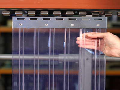 Ribbed PVC Strips