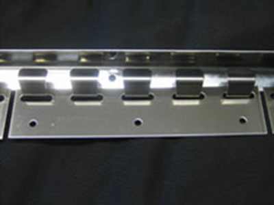 stainless steel plates for pvc strip curtains