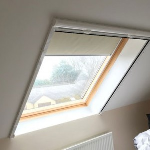 Velux retractable fly screen