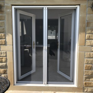 double roller fly screen door