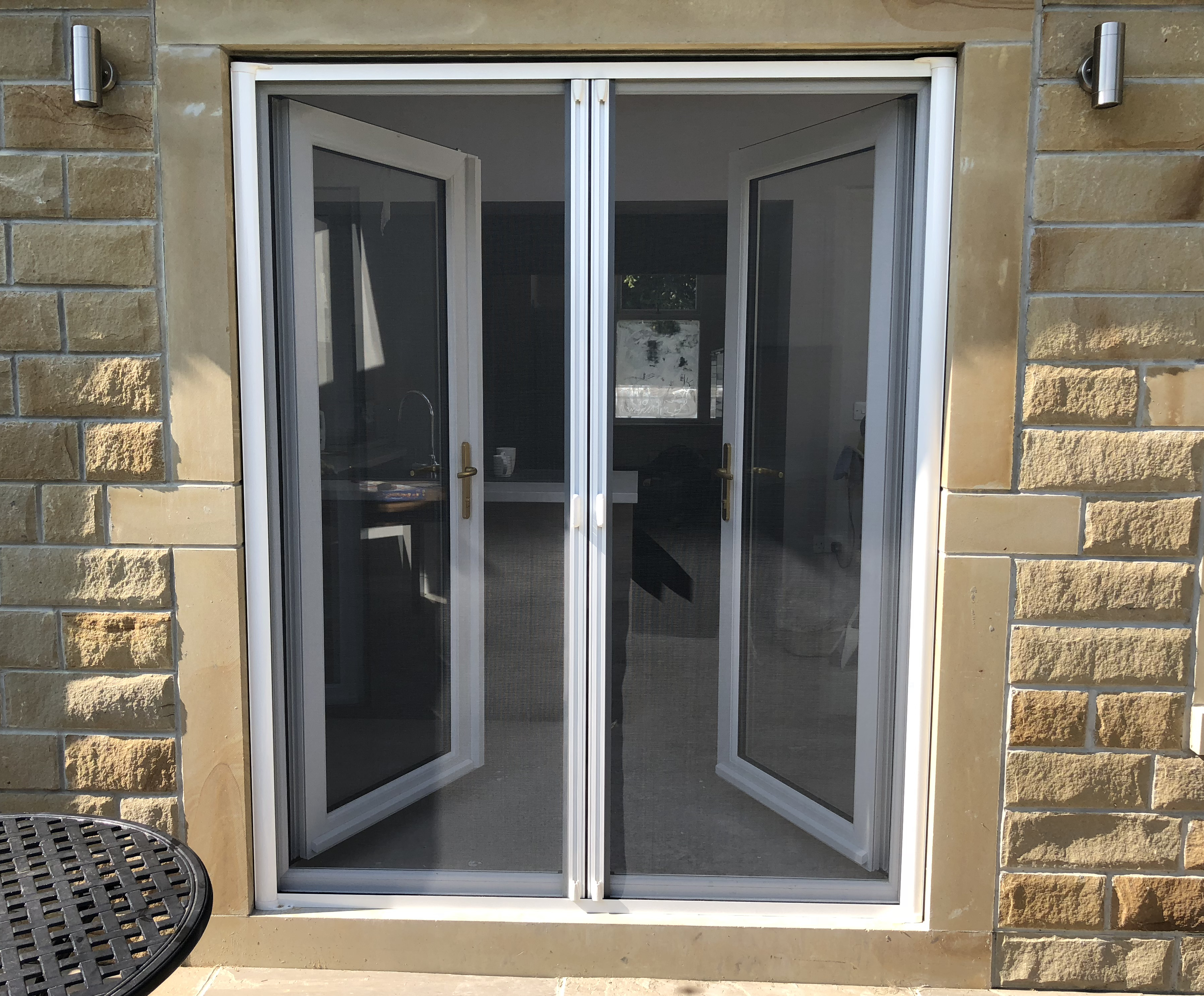 Double Roller Fly Screen Door Fly Screens For Windows And Doors