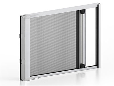 Roller fly screen doors fly protection for all types of for Roller fly screens for doors