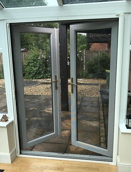 Roller fly screen doors & Roller Fly Screen Doors fly protection for all types of doorways Pezcame.Com