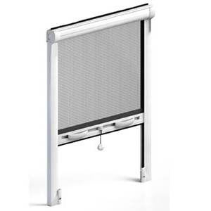 Roller fly screens