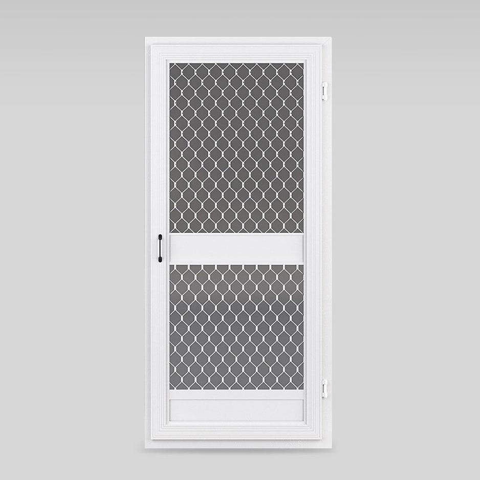 heavy duty fly screen door