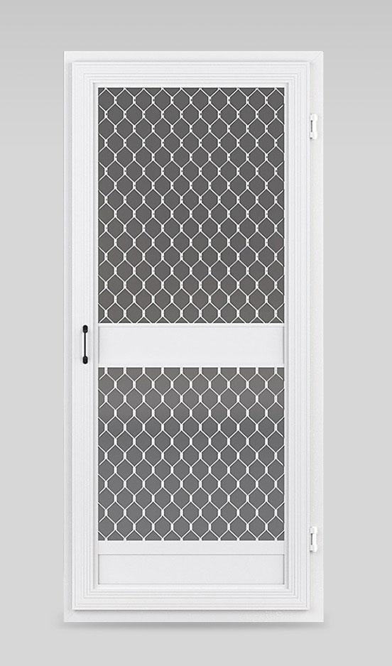 Hinged Fly Screen Door Gallery
